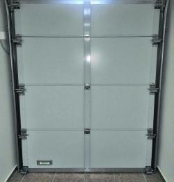 Секционные противопожарные ворота EI60