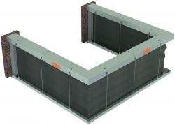 Противопожарные шторы «Гармошка» EI60/EI120/EI180